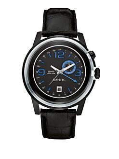 Breil - Dual Time Strap Watch
