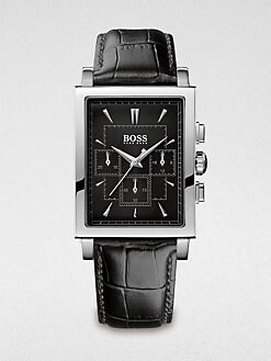 BOSS Black - Ultra Slim Rectangular Watch