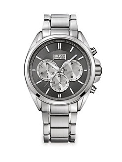 BOSS Black - Stainless Steel Driver Watch