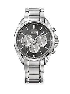 BOSS HUGO BOSS - Stainless Steel Driver Watch