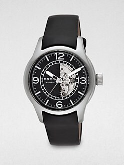 Breil - New Globe Stainless Steel Watch