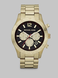 Michael Kors - Shiny Gold Chronograph Watch