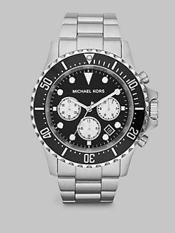 Michael Kors - Silver Tone Chronograph Watch