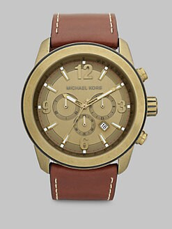 Michael Kors - MK Bronze Stainless Steel Chronograph Watch