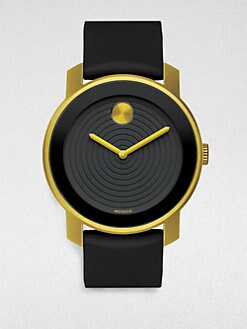 Movado - Large Bold Watch/Yellow