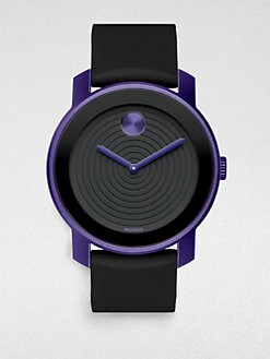 Movado - Bold Circle-Textured Watch