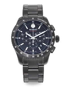 Movado - Series 800 PVD Chronograph Watch