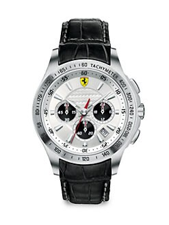 Scuderia Ferrari - Scuderia Stainless Steel Chronograph Watch