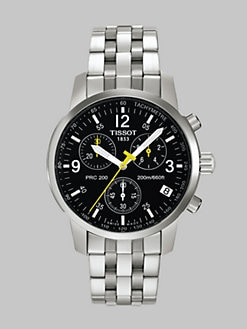 Tissot - T-Sport  Stainless Steel Chronograph Bracelet Watch
