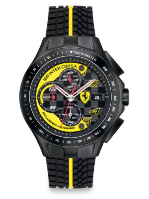Race Day Chronograph Watch