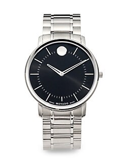 Movado - Stainless Steel Watch