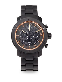 Movado - Black IP Titanium Chronograph Watch