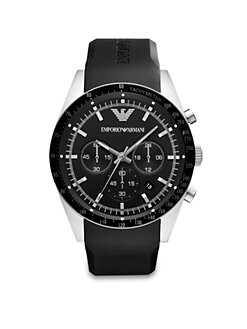 Emporio Armani - Stainless Steel Chronograph Watch