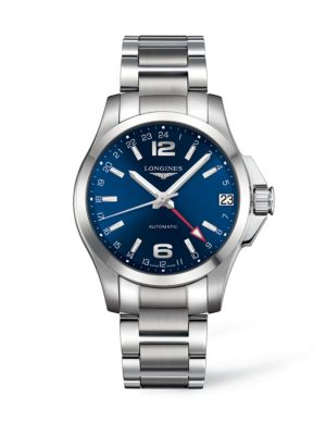 Conquest Stainless Steel Bracelet Watch