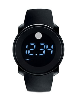 Movado - Bold Dual-Time Digital Watch