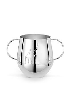Christofle - Savane Two-Handle Baby Cup