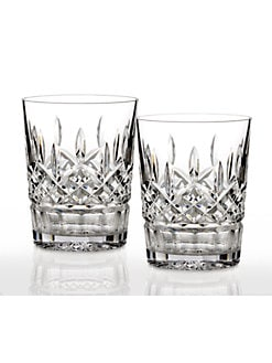 Waterford - Lismore Double Old Fashion Glasses, Set of 2