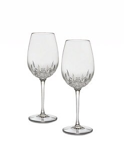 Waterford - Lismore Essence Crystal Red Wine Glass/Set of 2