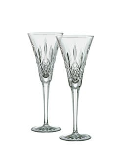 Waterford - Lismore Crystal Toasting Flute/Set of 2