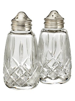 Waterford - Lismore Crystal Salt & Pepper Set