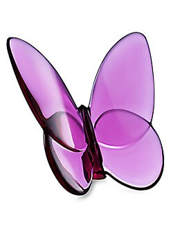 Baccarat - Lucky Butterfly/Ruby