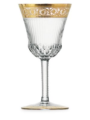 Thistle Large Crystal Water Glass