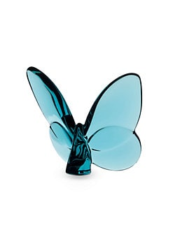 Baccarat - Crystal Butterfly/Turquoise