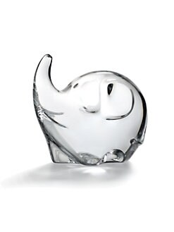 Baccarat - Crystal Baby Elephant