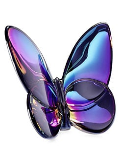Baccarat - Blue Scarabe Crystal Butterfly