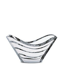 Baccarat - Waves Crystal Bowl