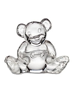 Waterford - Crystal Teddy Bear