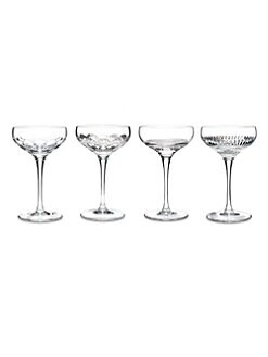 Waterford - Crystal Mixology Coupes/Set of 4