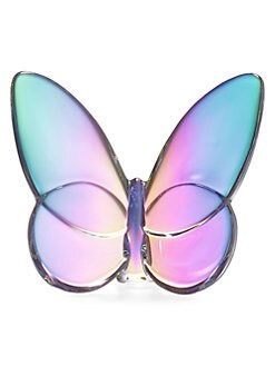 Baccarat - Lucky Butterfly/Purple Iridescent
