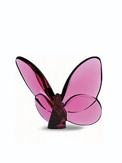 Baccarat - Crystal Butterfly/Pink