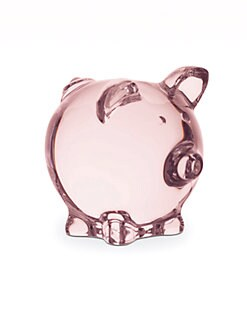 Baccarat - Pink Pig