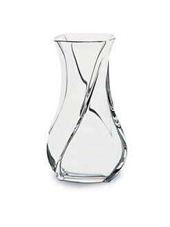Baccarat - Serpentin Crystal Vase/Large