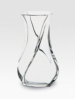 Baccarat - Serpentin Crystal Vase/Small