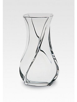 Baccarat - Serpentin Crystal Vase/Medium