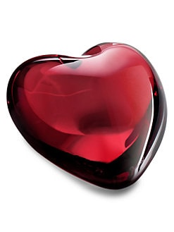 Baccarat - Puffed Heart, Ruby