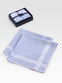 Derek Rose - Handkerchief Two-Pack/Blue