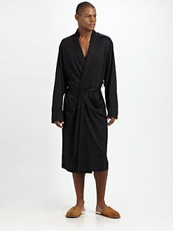 American Essentials - Silk/Cotton Robe