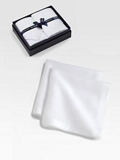 Derek Rose - Handkerchief Two-Pack/Fleur-de-Lis Jacquard