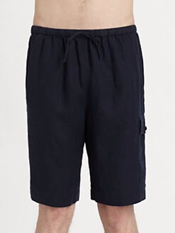 American Essentials - Drawstring Cargo Shorts