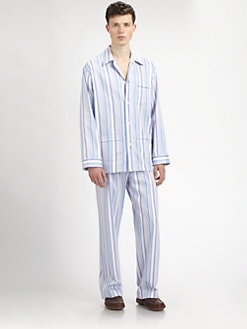 Derek Rose - Mayfair Printed Pajama Set