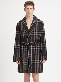 Burberry - Check Robe