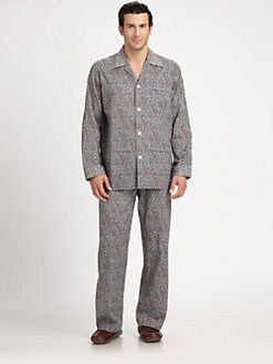 Derek Rose - Woven Classic Cotton Pajama Set