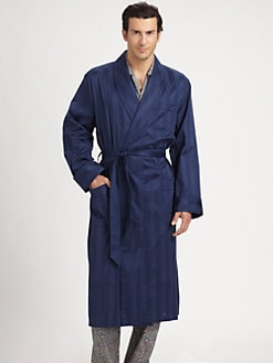 Derek Rose - Shawl Collar Robe