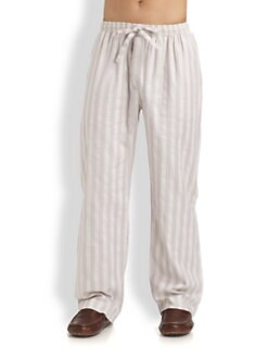 Derek Rose - Striped Lounge Trousers