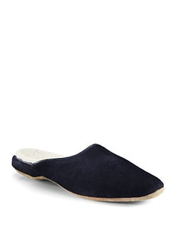 Naturally by Derek Rose - Shearling Scuff Slipper