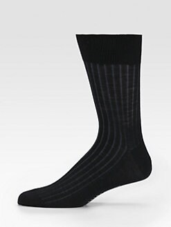 Falke - Ribbed Merino Wool Socks